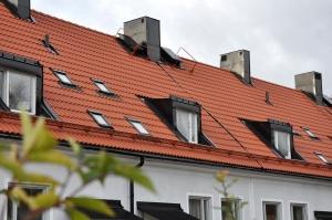 Fasadrenovering puts Stockholm