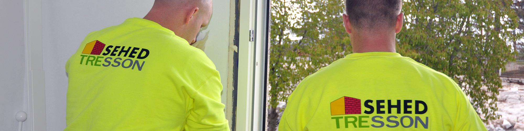 SEHED Tressons hantverkare byter fönster i Tallbohov i Järfälla 2020